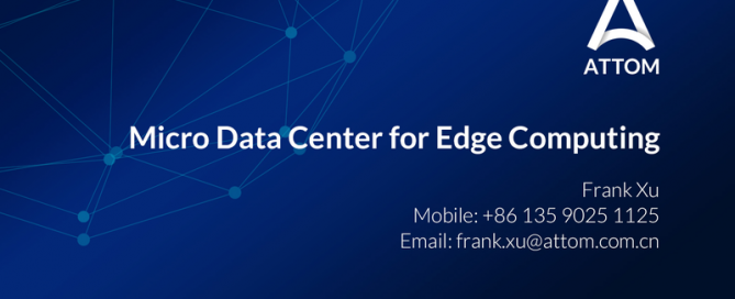 mdc for edge computing
