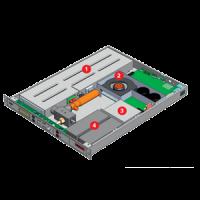 rack mount automatic fire system of AgileRak Micro Data Center